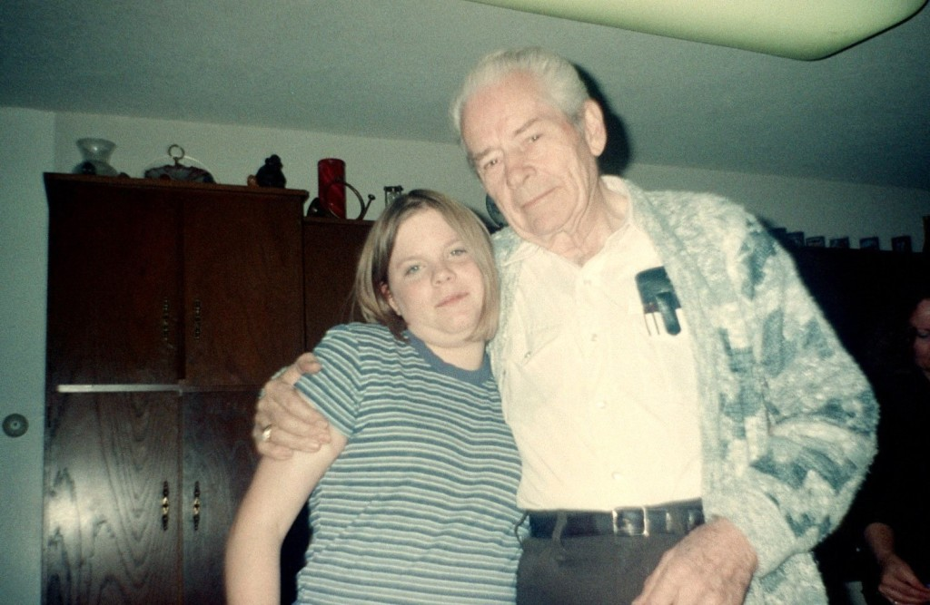 Grandpa and a younger Crystal