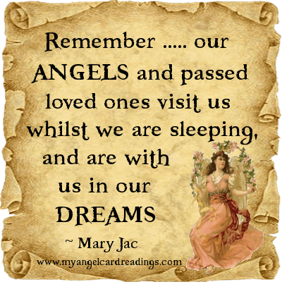 Angels and Loved Ones