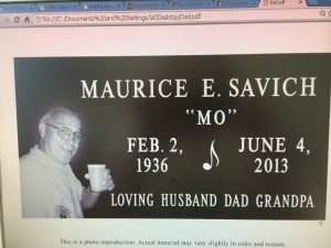 In Memory of Maurice
