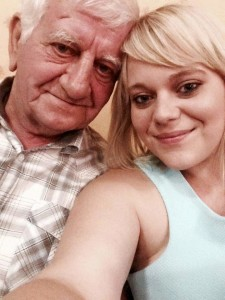 Stacey and her Father