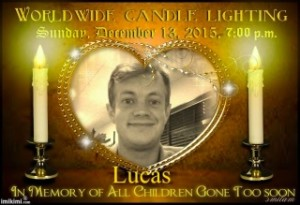lucas candle lighting