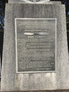 High Flight Honor for those who died in B-47 accidents