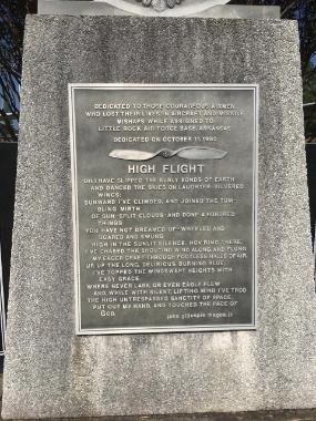 High Flight Honor for Gordon Addy