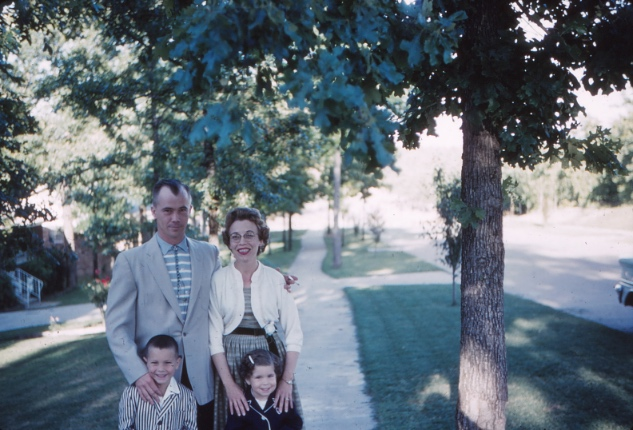 Amy's Parents with Carl's children