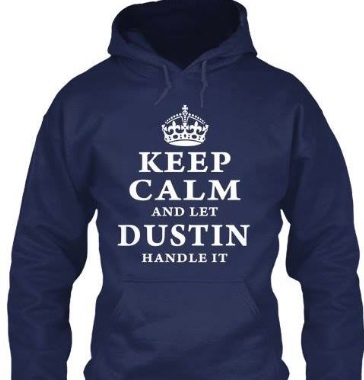 A profile picture of Dustin's